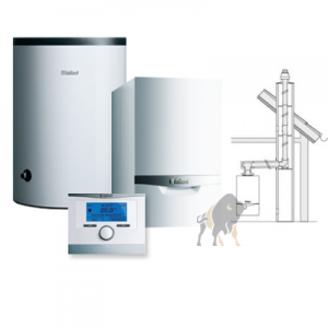 VAILLANT ecoTEC VC PLUS 146/5-5 + VIH R 150/6 B + multiMATIC 700/5 + KOMIN W SZACHT