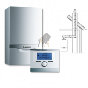 VAILLANT ecoTEC VCW PLUS 346/5-5 + multiMATIC 700 + KOMIN W SZACHT