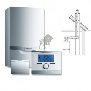 VAILLANT ecoTEC VCW EXCLUSIVE 356/5-7 + multiMATIC 700 + MODUŁ INTERNETOWY + KOMIN W SZACHT