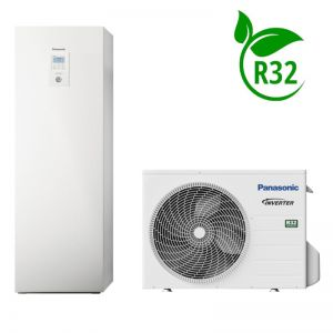 PANASONIC AQUAREA HIGH PERFORMANCE NISKOTEMP. 1-FZ POMPA CIEPŁA 3,2/3,2 KW TYPU ALL IN ONE DO GRZANIA I CHŁODZENIA  - KIT-ADC03JE5
