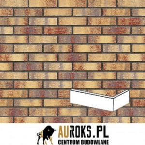 KING KLINKIER PŁYTKA KĄTOWA RAINBOW BRICK 240/115x71x10 MM